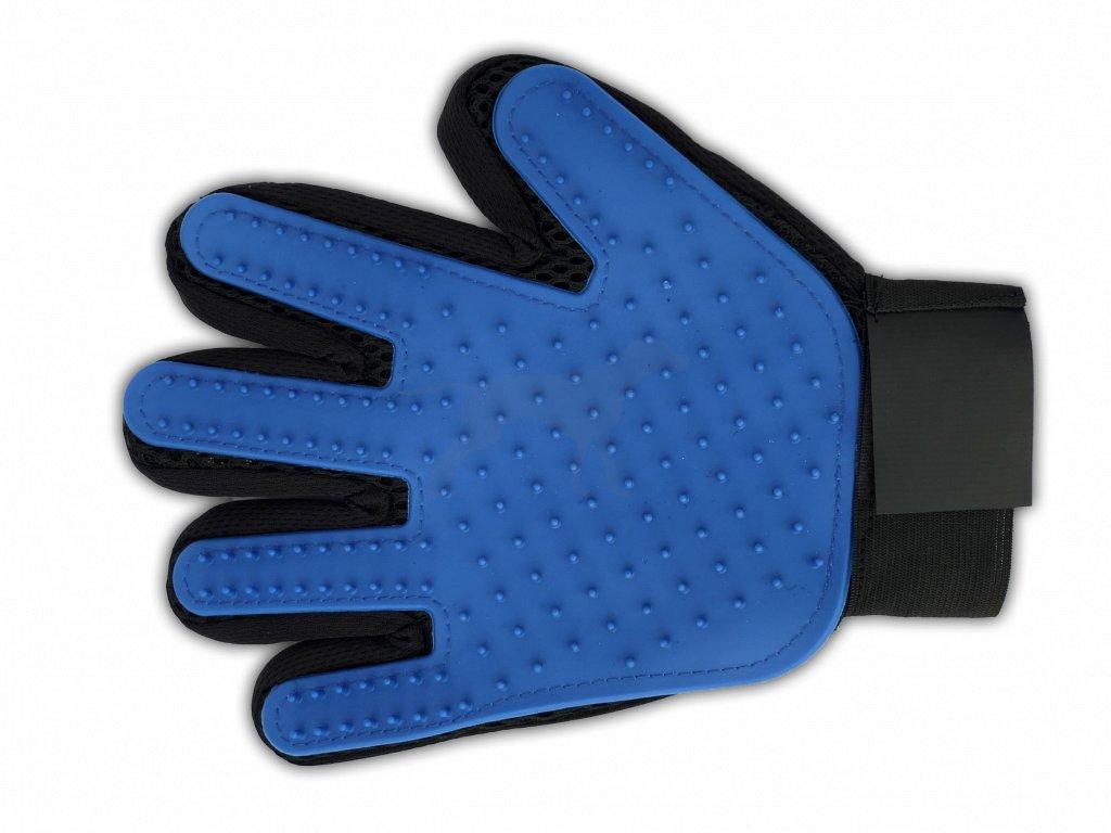 rukavice modrá
