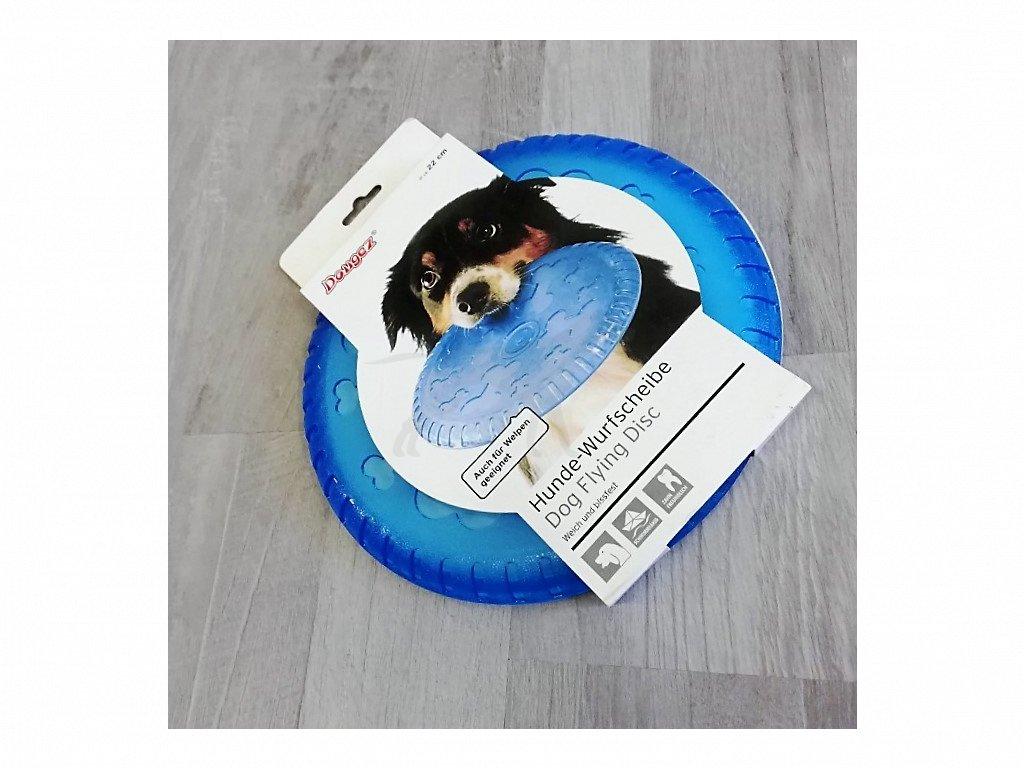 Hračka létající talíř pro psy