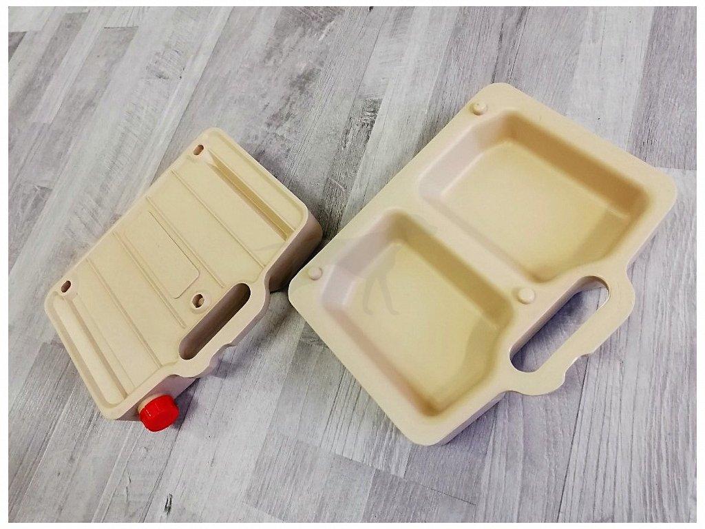 Cestovní box na vodu/krmivo