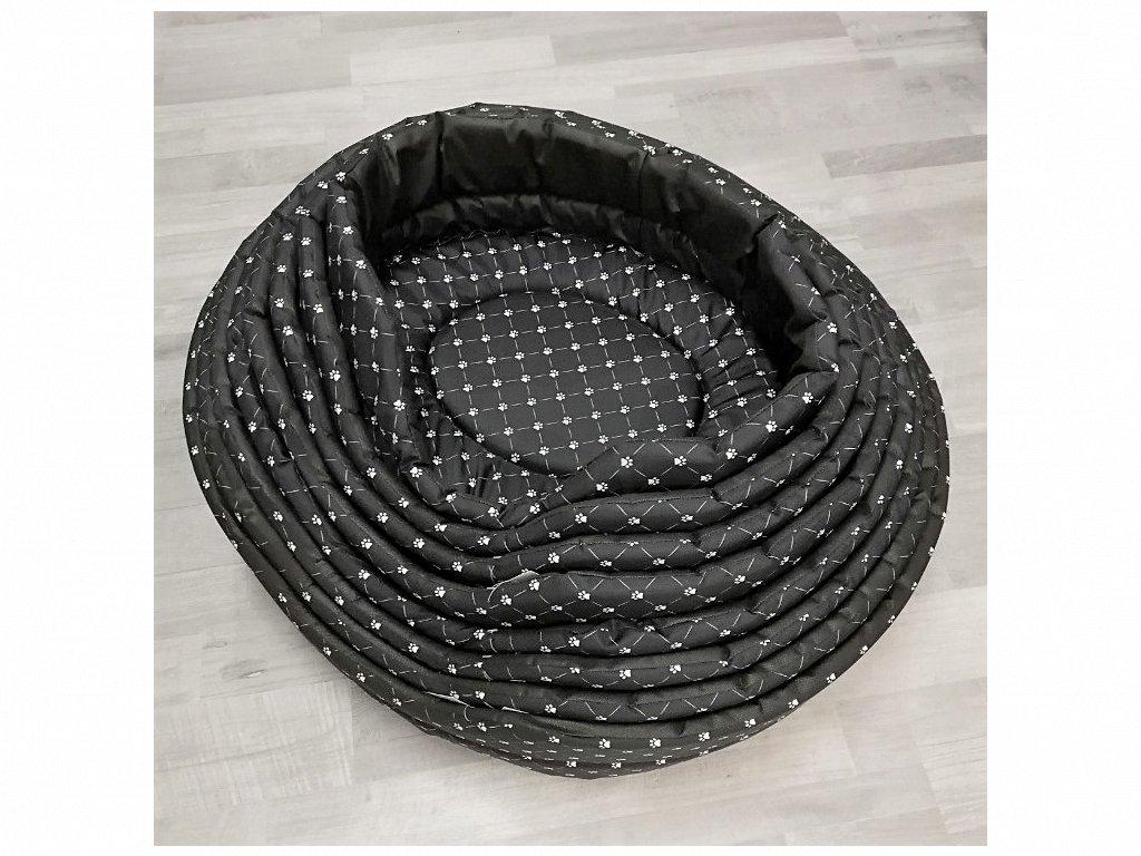 Pelech Tlapka černý 72x 64 cm