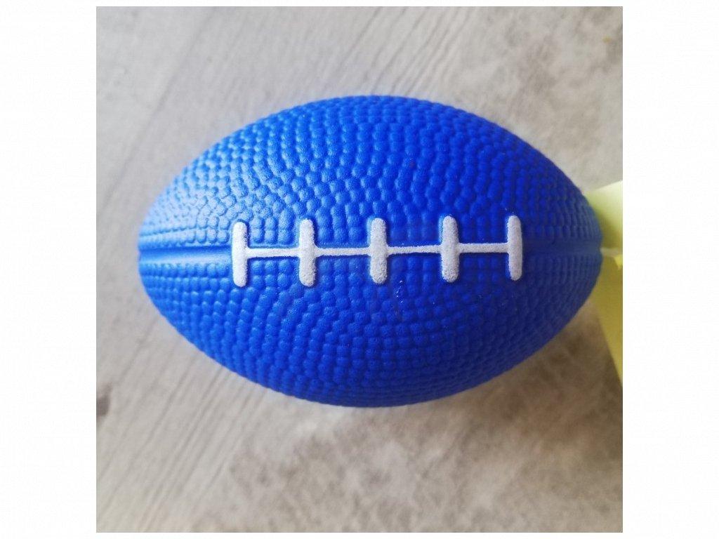 Hračka míč zrno pěna 6x 9 cm