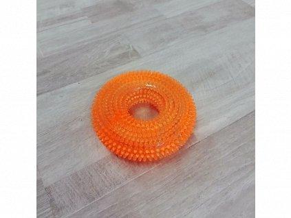 Hračka masážní kolo oranžové