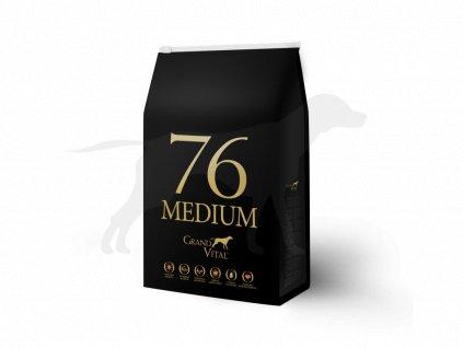 Grand Vital 76 Medium Adult 8 kg (pack 4 x 2 kg)
